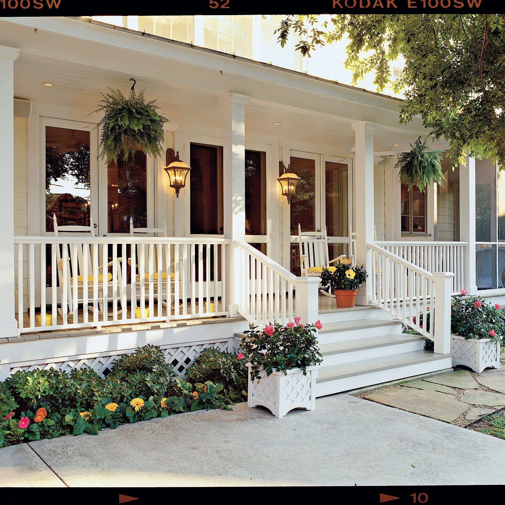 Shady Ladies Containers For Covered Porches Southern Living