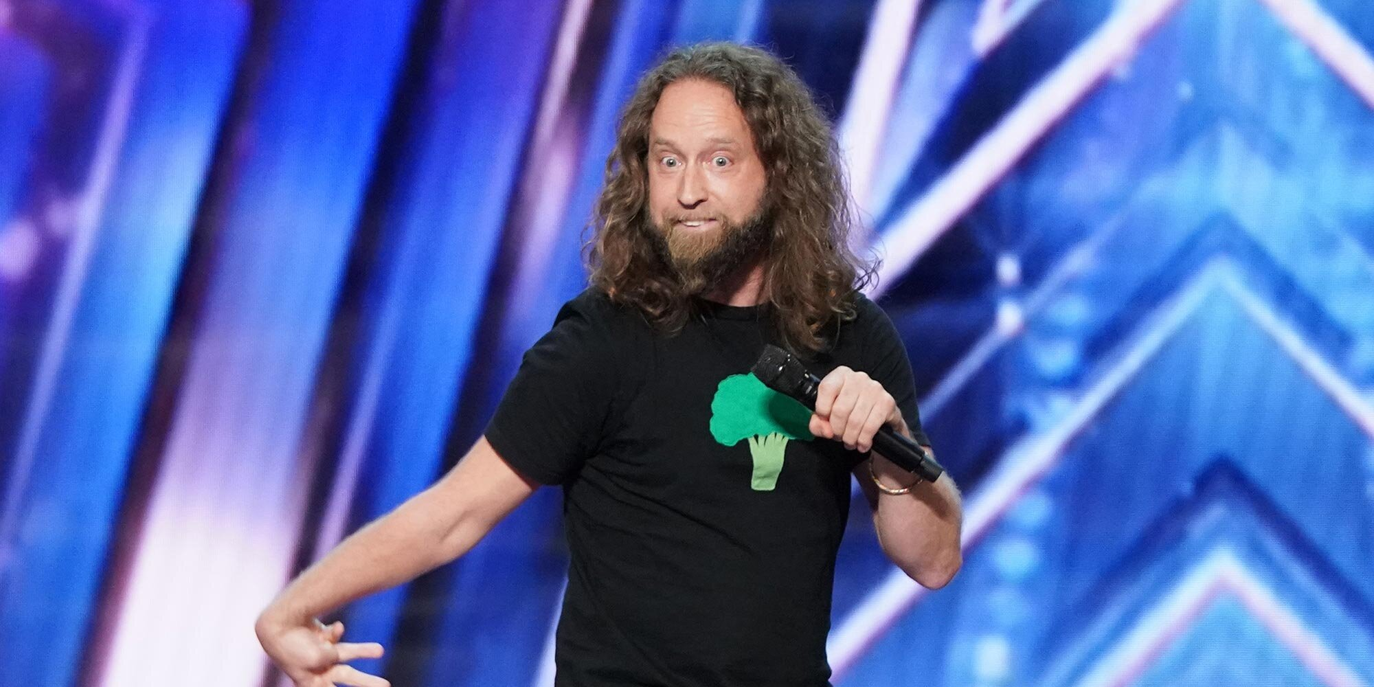 You may remember 'America's Got Talent' contender Josh Blue as a 'Last Comic Standing' winner
