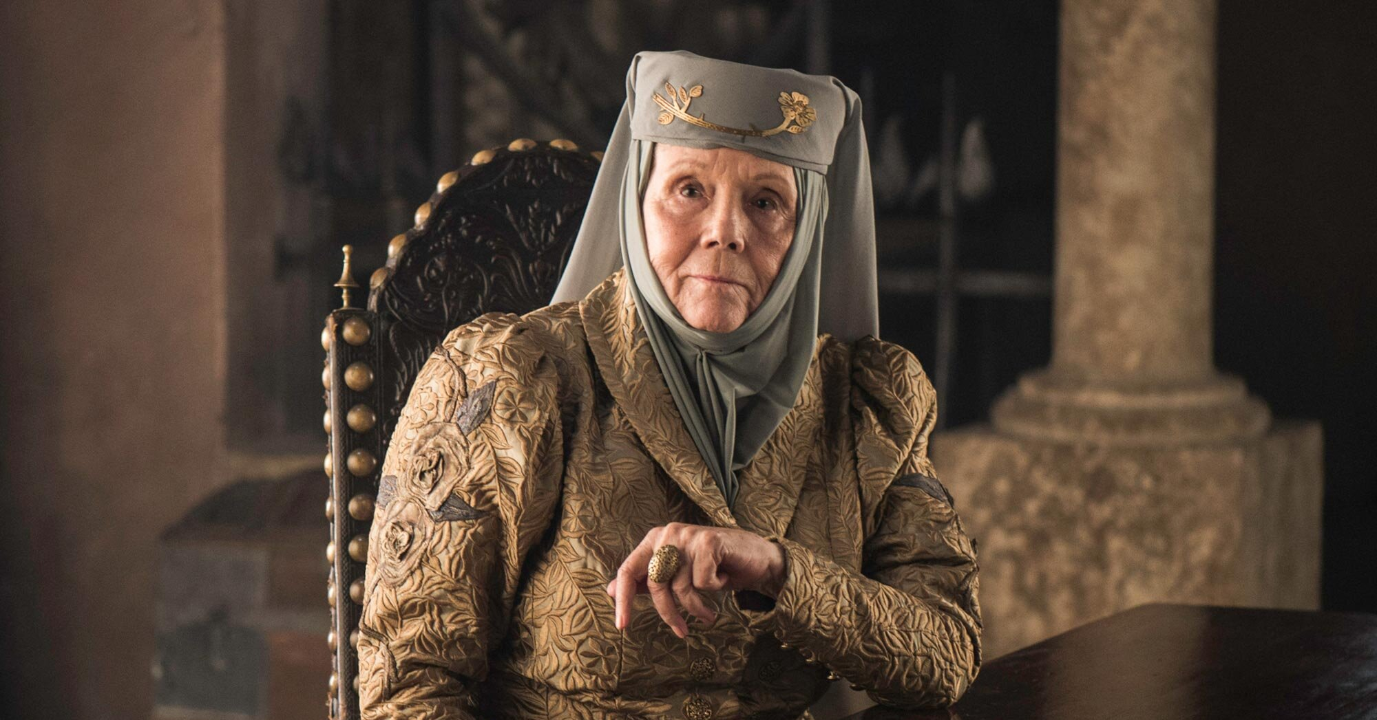 Diana Rigg once stormed off the 'Game of Thrones' set (and inspired all)