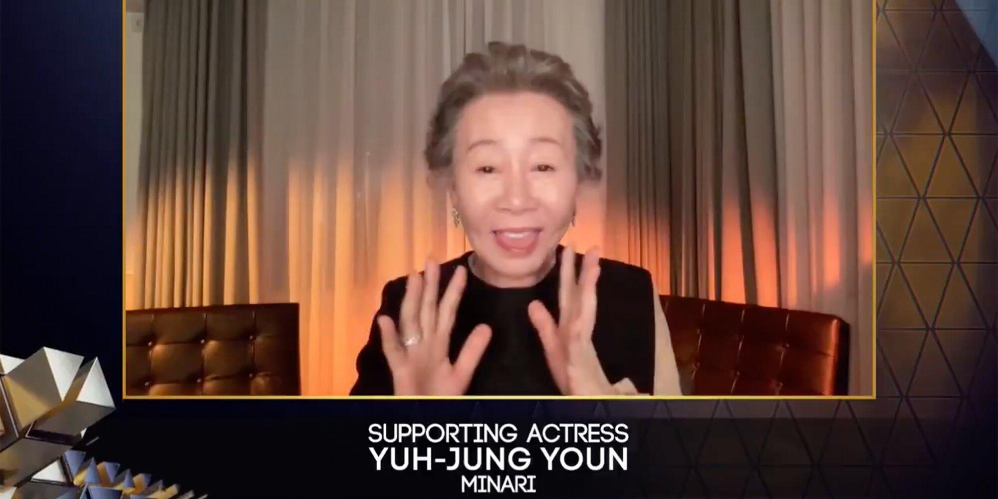 'Minari' star Yuh-Jung Youn hilariously thanks 'snobbish' Brits for BAFTA win