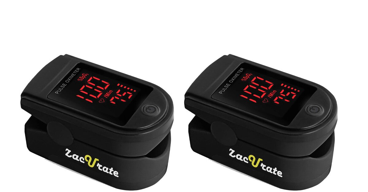 zacurate pro fingertrip oximeter blood oxygen tout