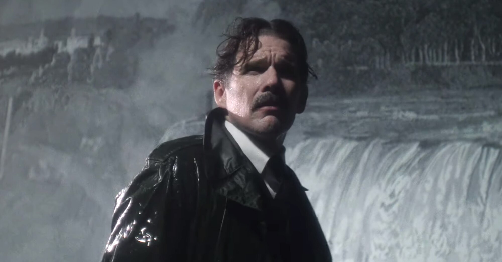 Ethan Hawke is electric in 'Tesla' trailer