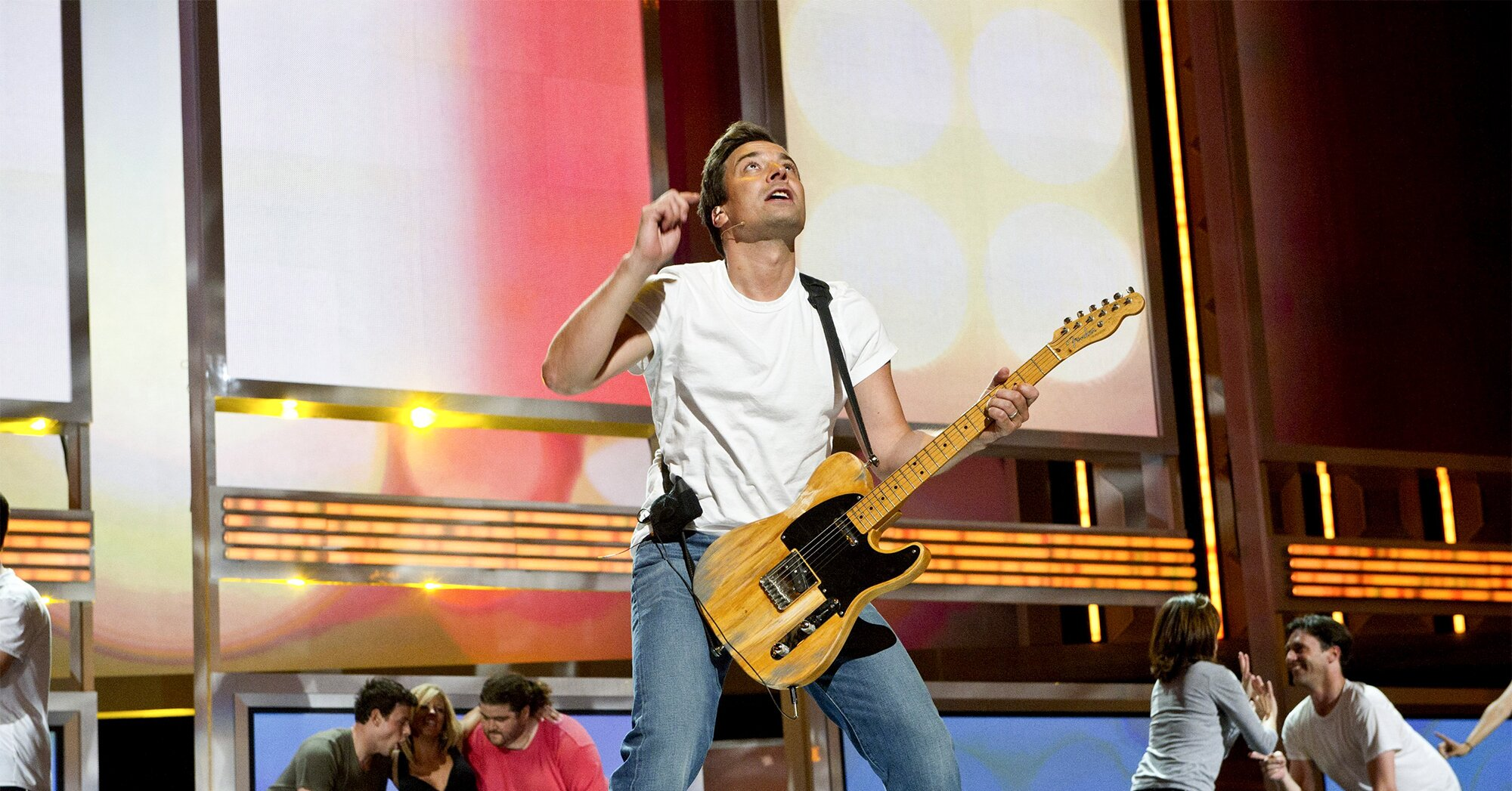 Emmys flashback: Jimmy Fallon remembers opening show with 'Born to Run' 10 years ago