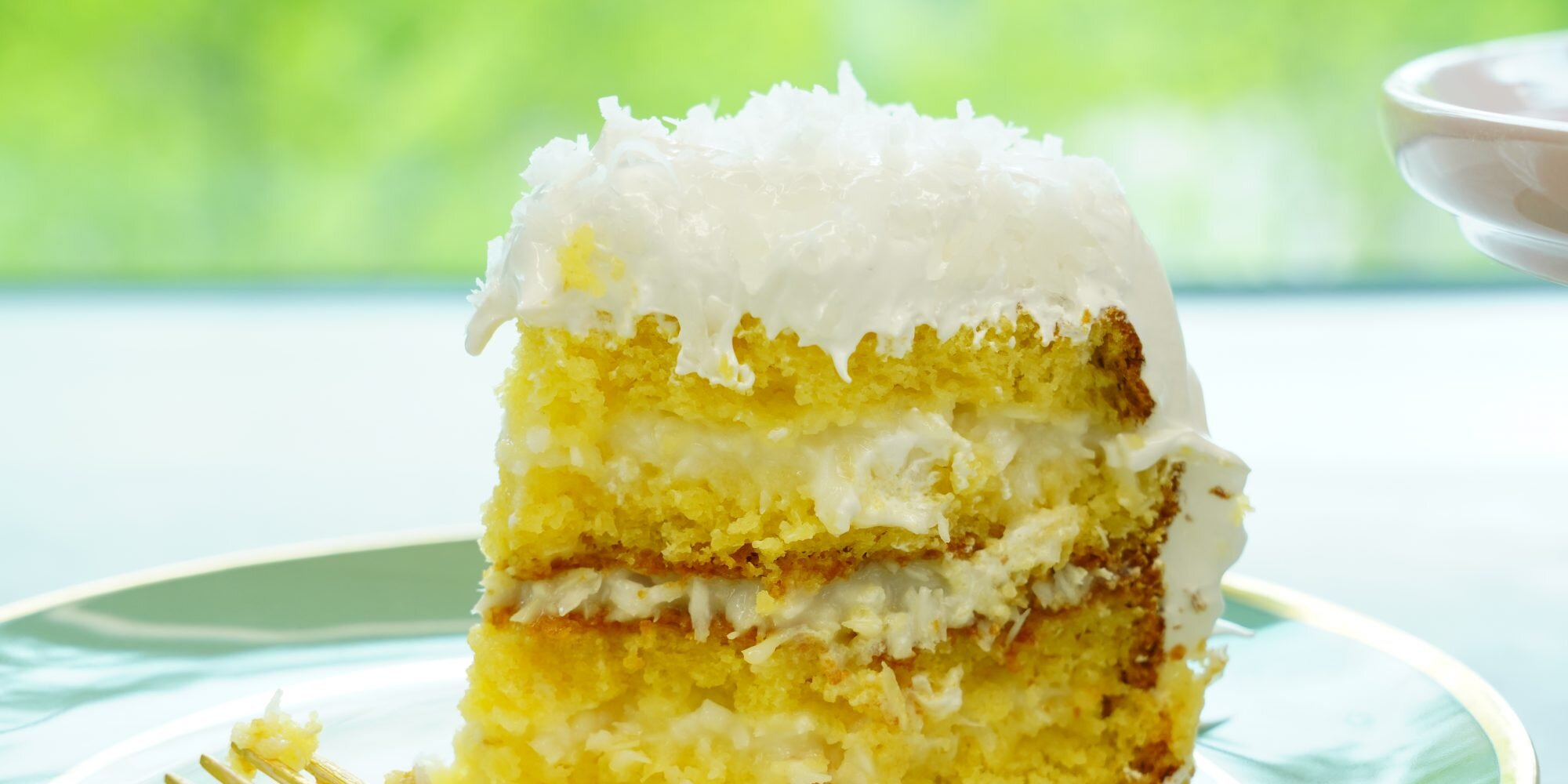 The Best Coconut Cake the Way Grandma Made It