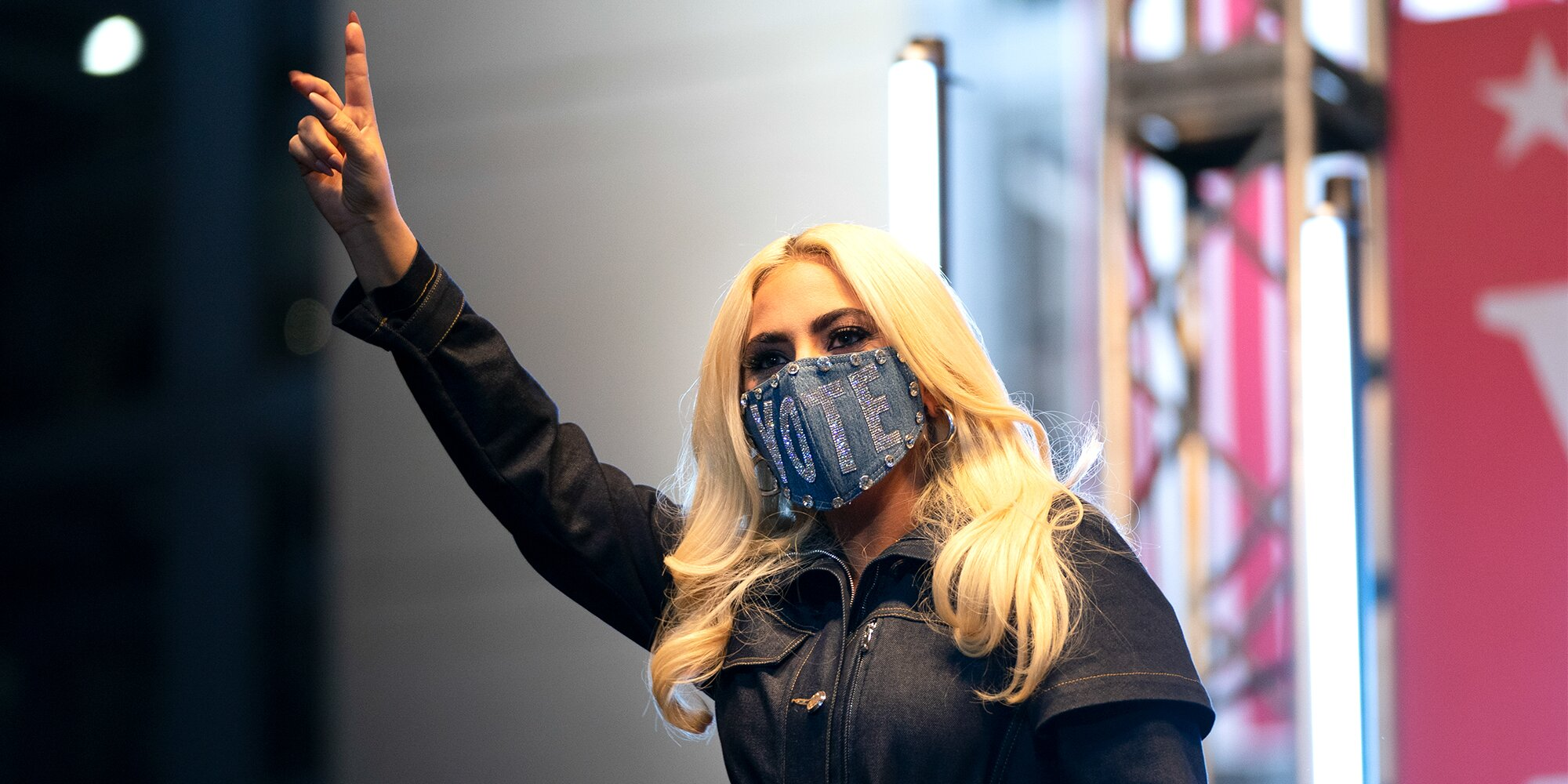 Lady Gaga says Joe Biden is her 'new Pennsylvania guy' in electric campaign performance
