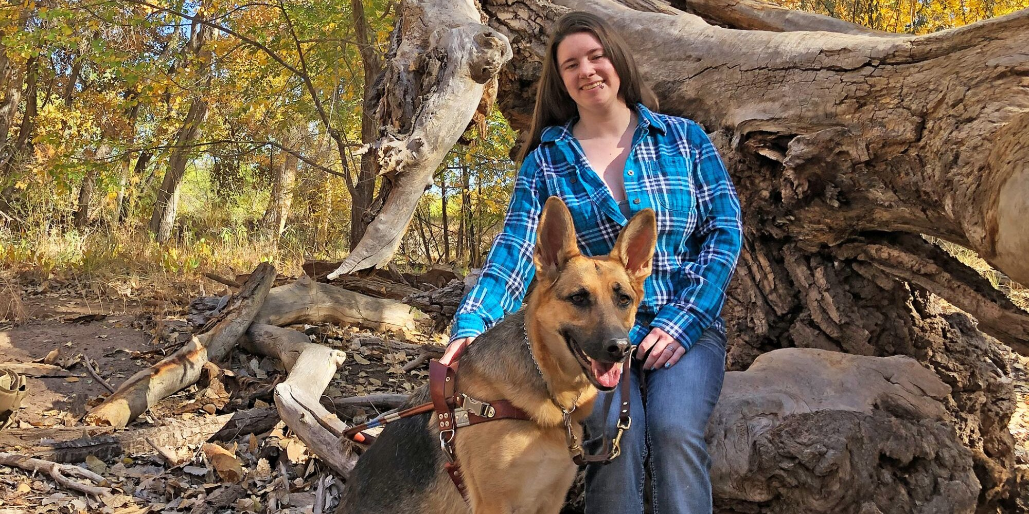 Hero Service Dog Helps Her Owner, Who Is Deaf and Blind, Navigate Life