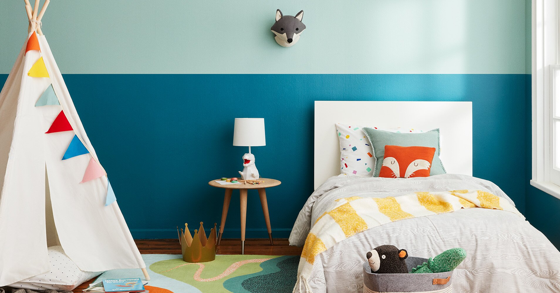 How To Choose A Youthful Paint Color For Your Child S Room That Still Complements The Rest Of Your Home Martha Stewart