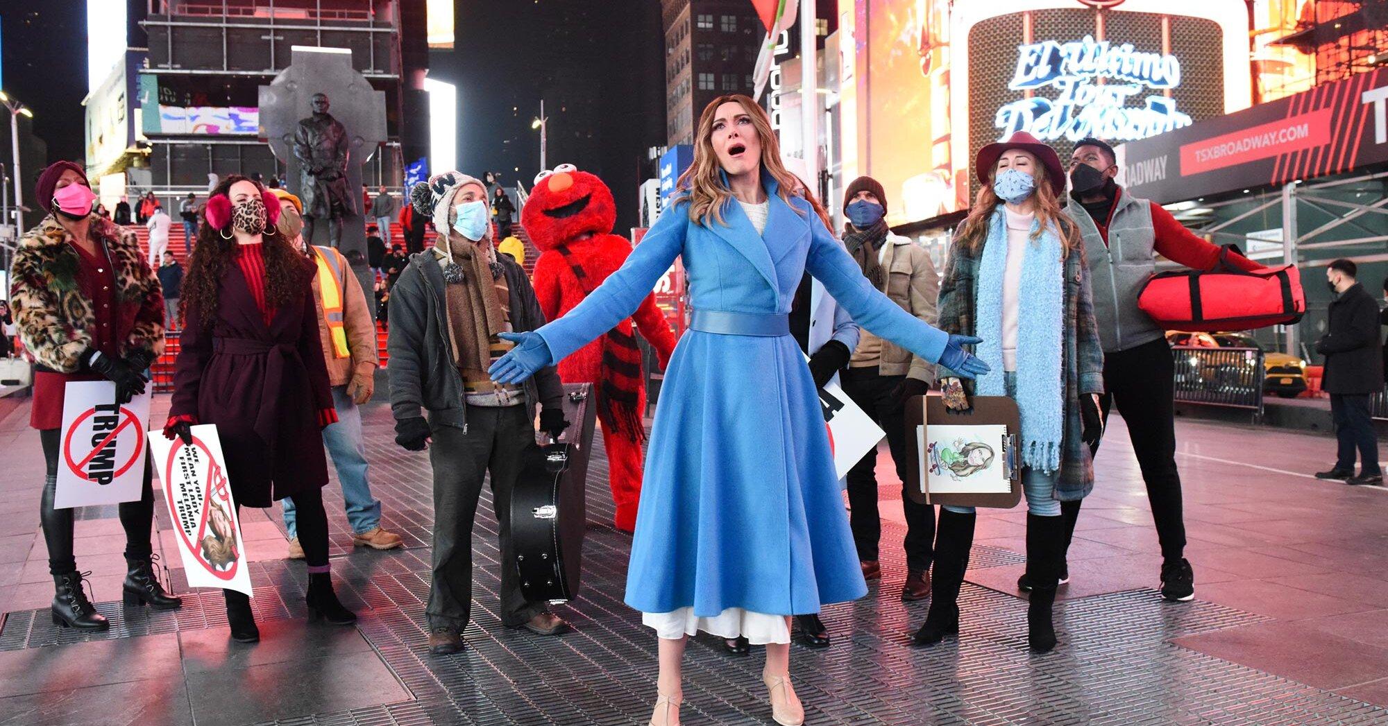 New York City tells Laura Benanti's Melania Trump to 'f--- off' in 'Late Show' musical sendoff