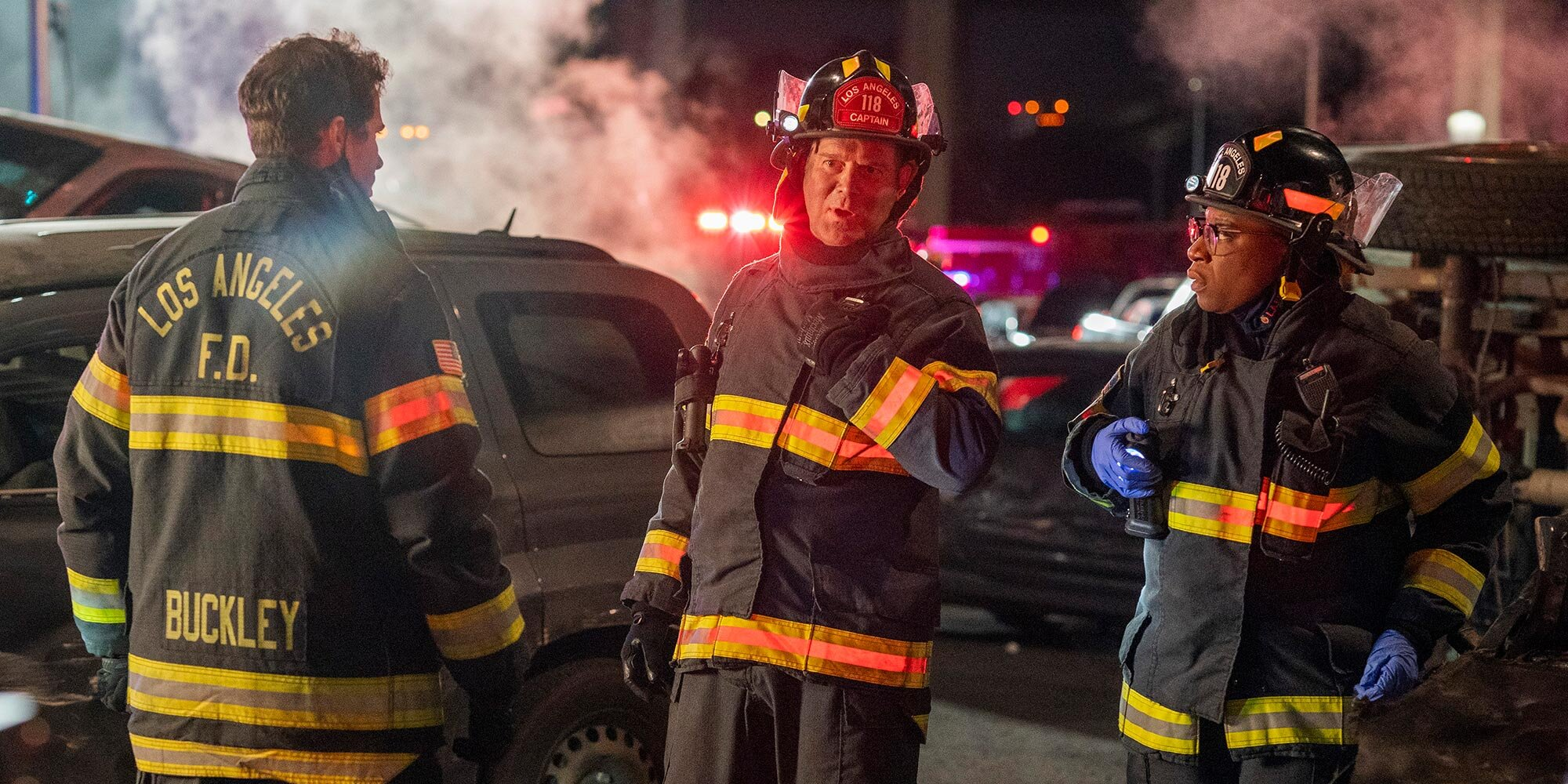 Chimney's brother is involved in a horrific pileup in '9-1-1' exclusive sneak peek
