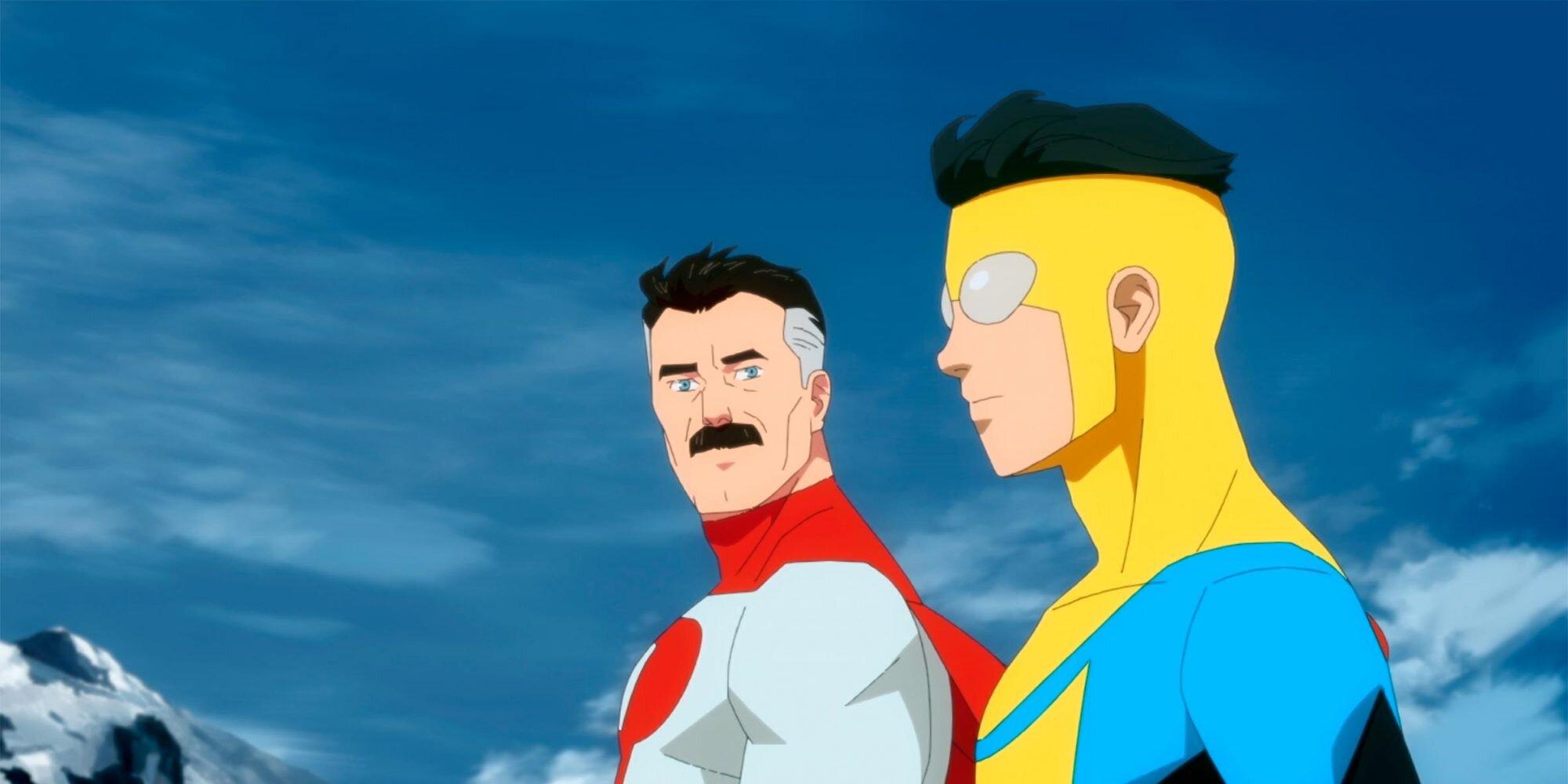 Invincible's Robert Kirkman previews the 'family drama' at heart of blood-splattered superhero series.jpg