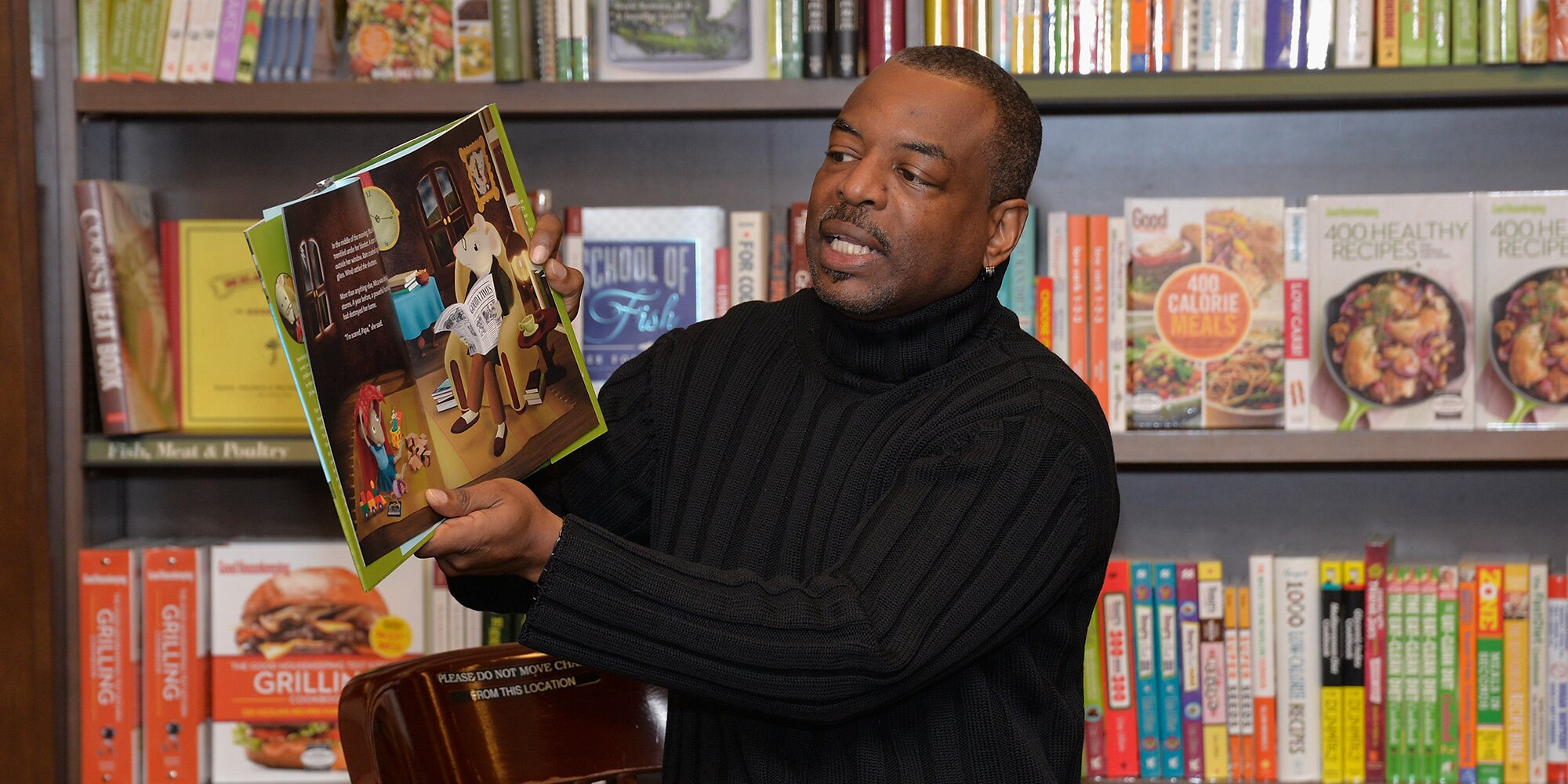 Take a look: The LeVar Burton Book Club is launching with three great picks