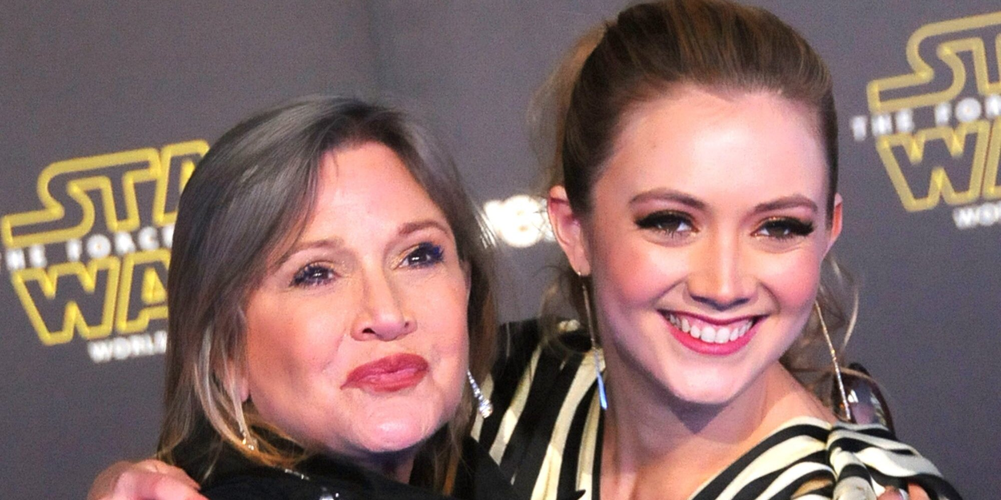 Billie Lourd shares photos of her son wearing a Princess Leia onesie in tribute to mom Carrie Fisher.jpg
