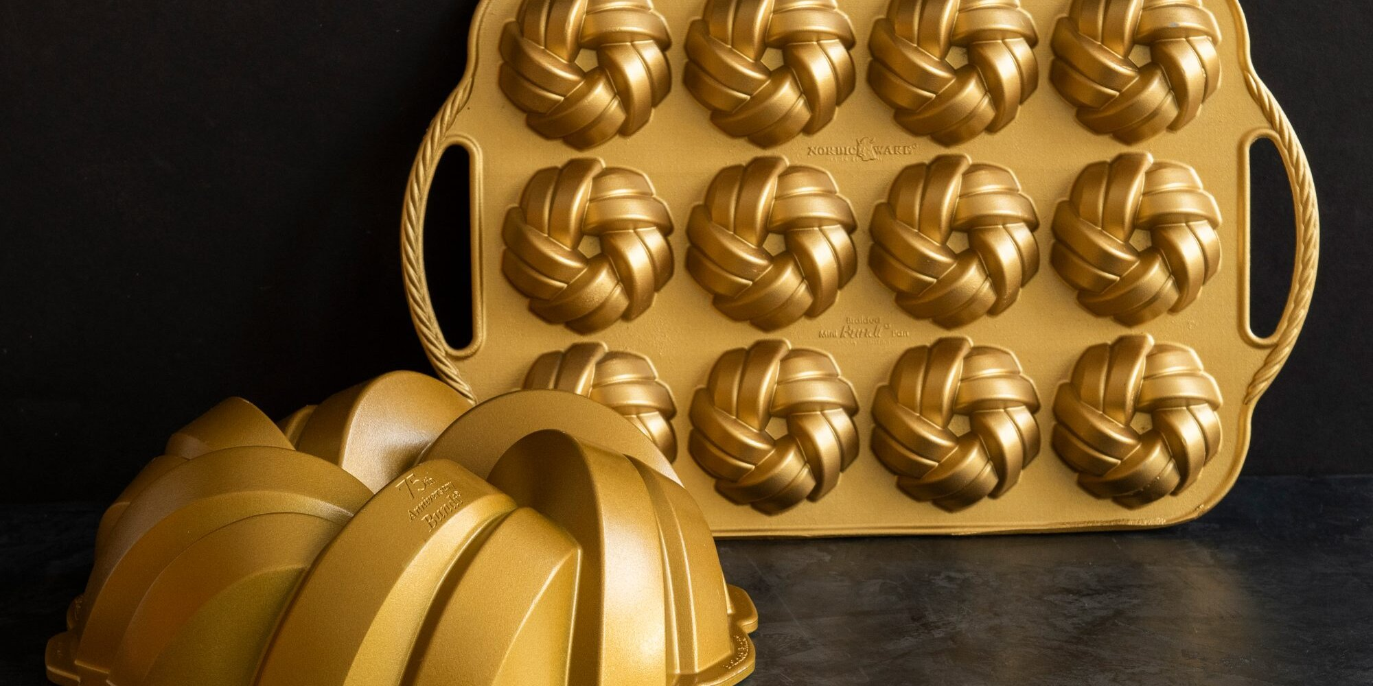 Nordic Ware Is Celebrating Their 75th Anniversary with the Release of Two Brand-New Cake Pans
