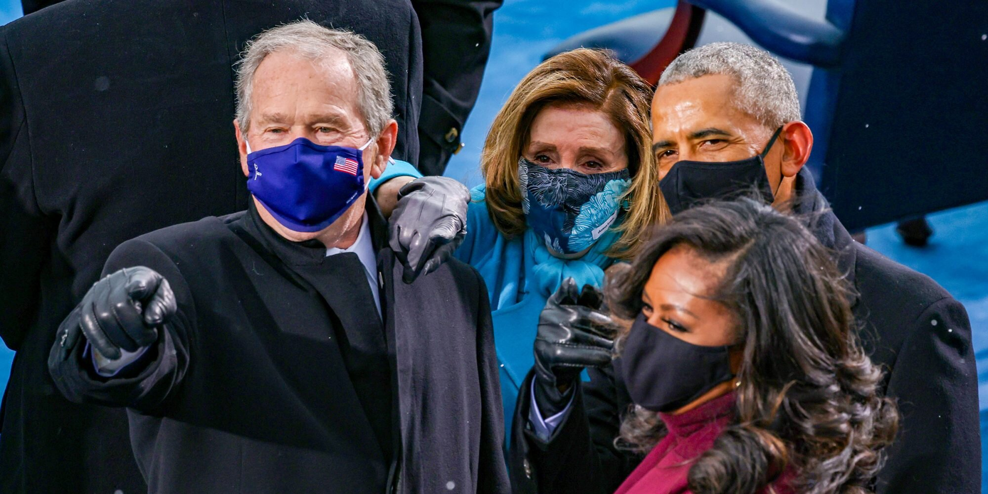 George W. Bush Told Another Inauguration Attendee Biden Was 'the Only One' Who Could Beat Donald Trump
