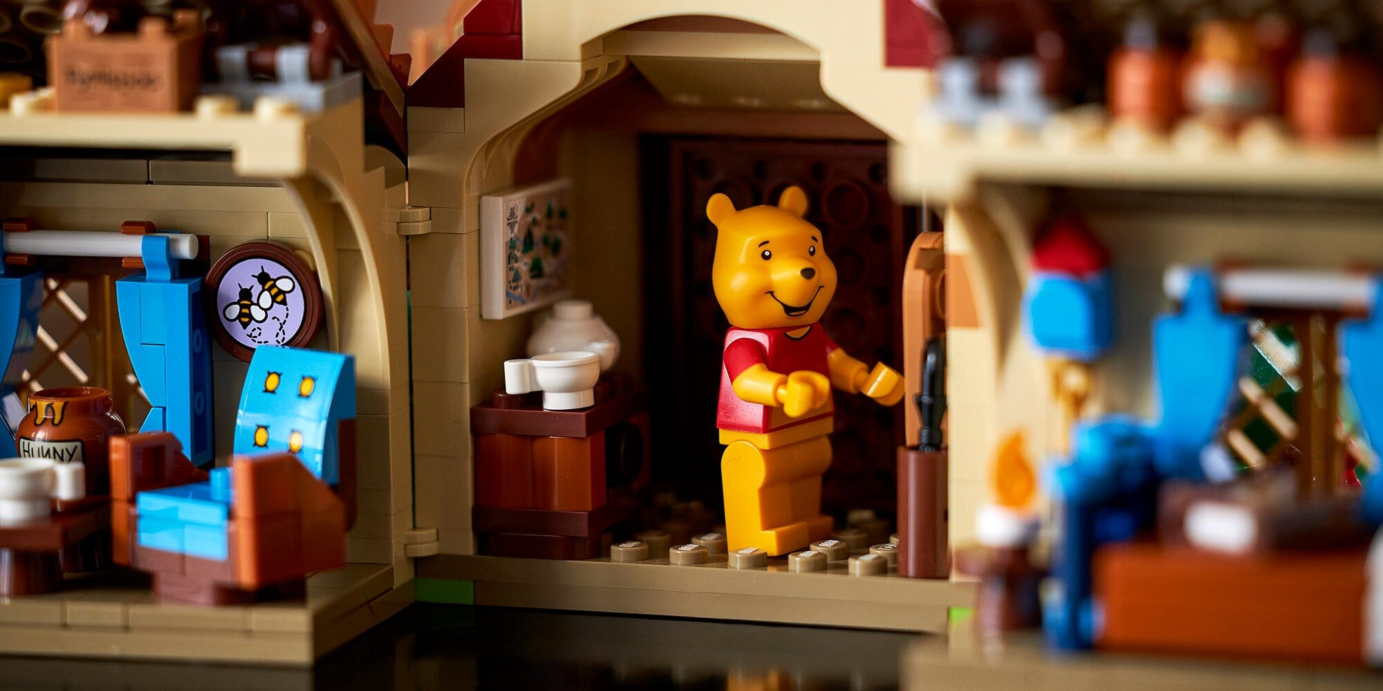 Kids, don't bother! Lego launches sweet, adults-only 'Winnie the Pooh' set