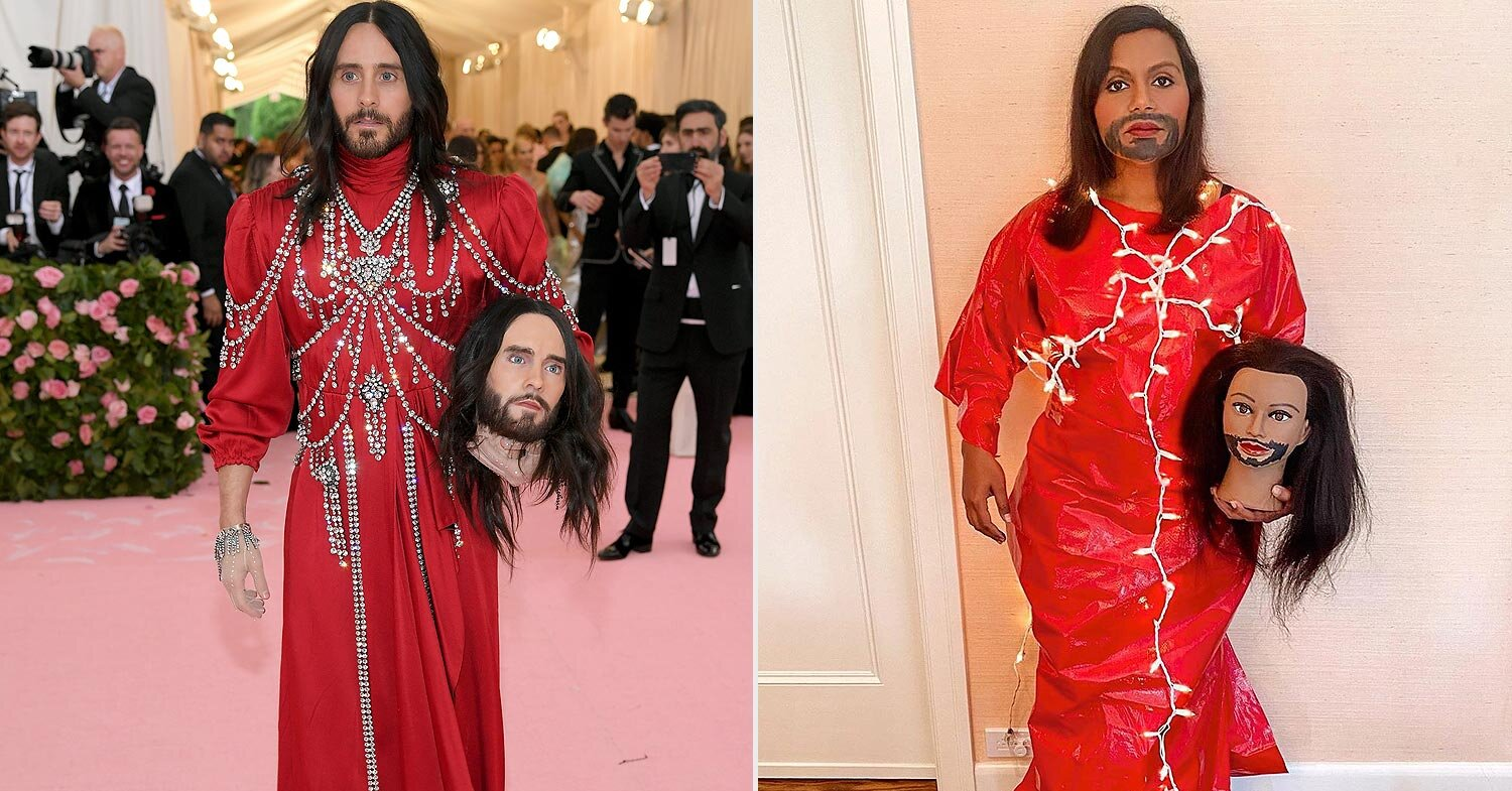 Mindy Kaling Jared Leto Met Gala Look People Com