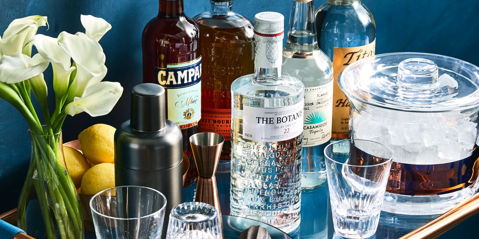 All the Bar Essentials You Need To Build a Well-Stocked Home Bar