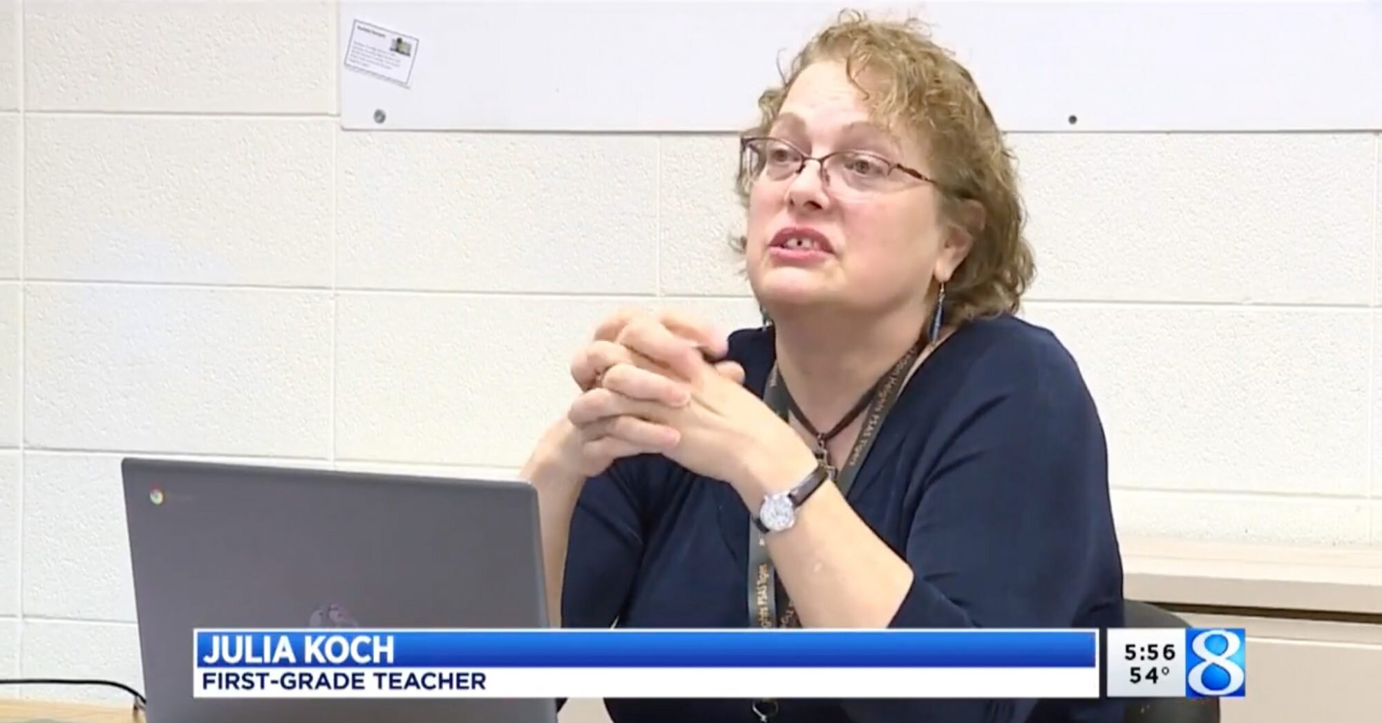 Mich. Teacher Saves Student's Grandmother After Recognizing Stroke Signs While Teaching Remotely
