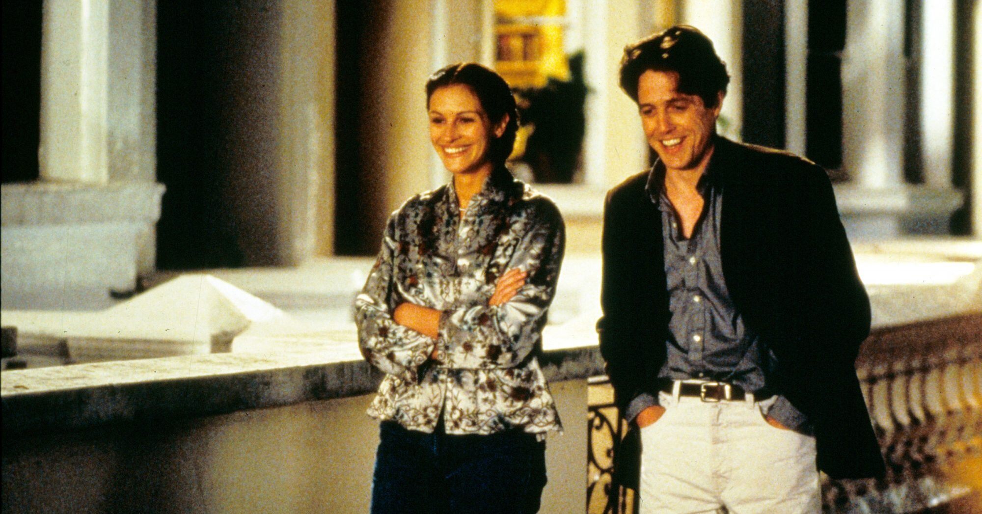 Hugh Grant Says He'd Do a Notting Hill Sequel to Show Rom-Coms Are a 'Terrible Lie'