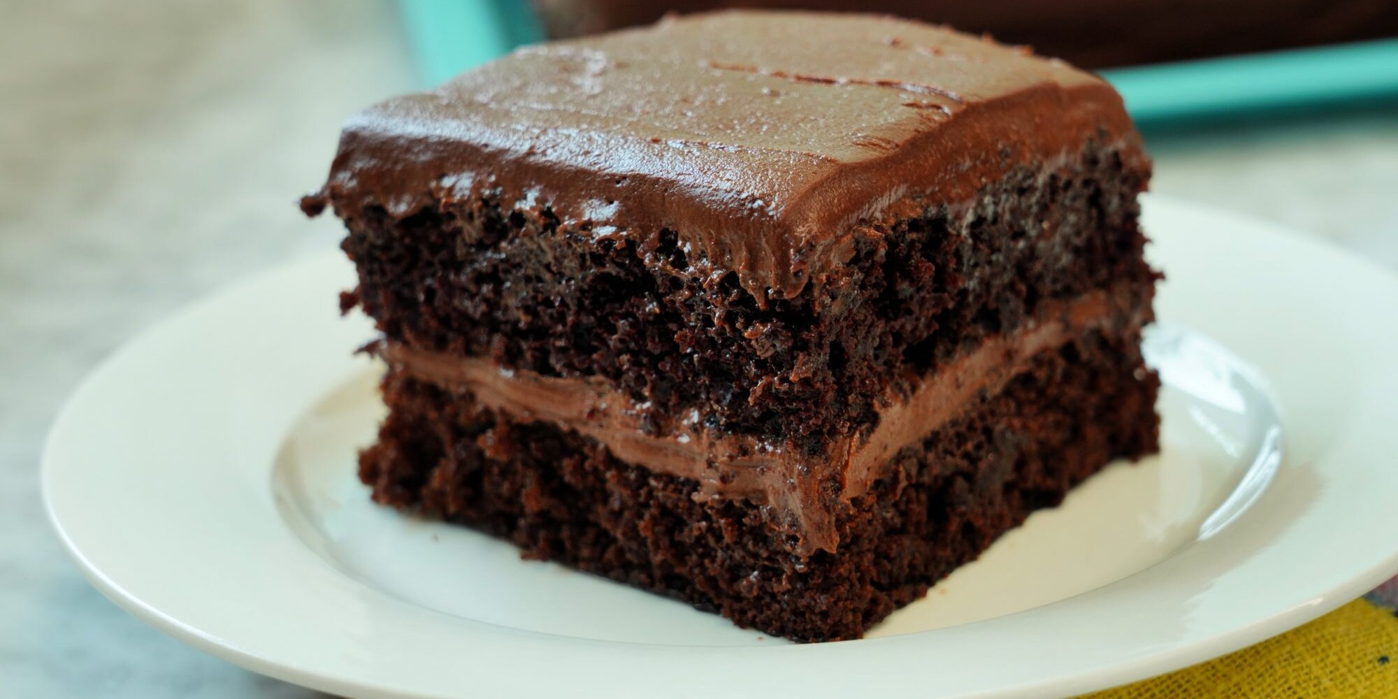 easiest chocolate cake from scratch