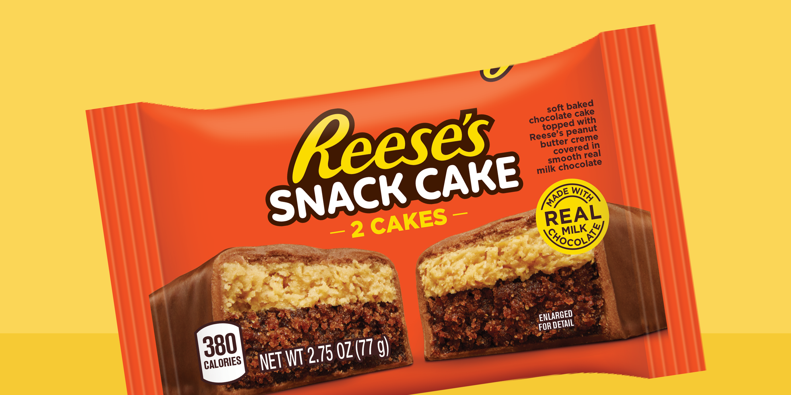 reeses new snack cake is a perfect excuse to eat candy for