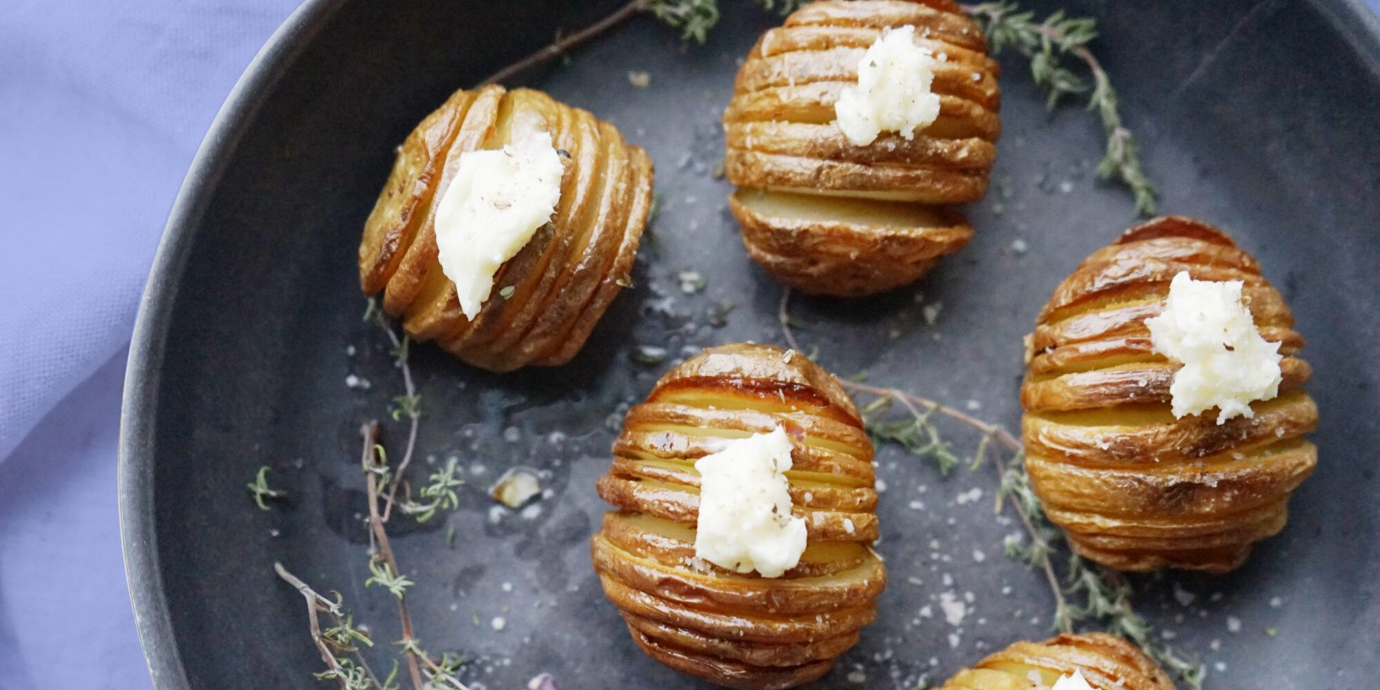 I Just Learned How to Make Mini Hasselback Potatoes and I'm Officially Serving Them With Everything