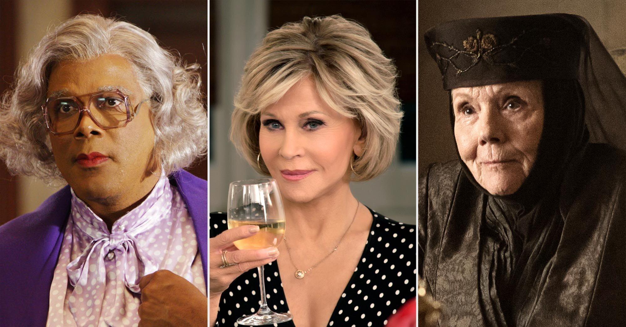 Badass grandmas in TV and movies