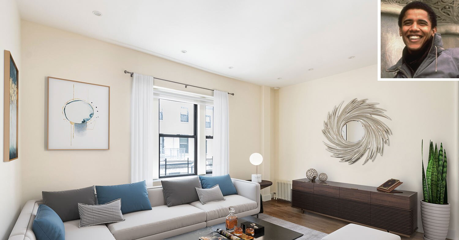 Barack Obama's Former College Apartment in NYC Is for Sale for $1.5M — See Inside!