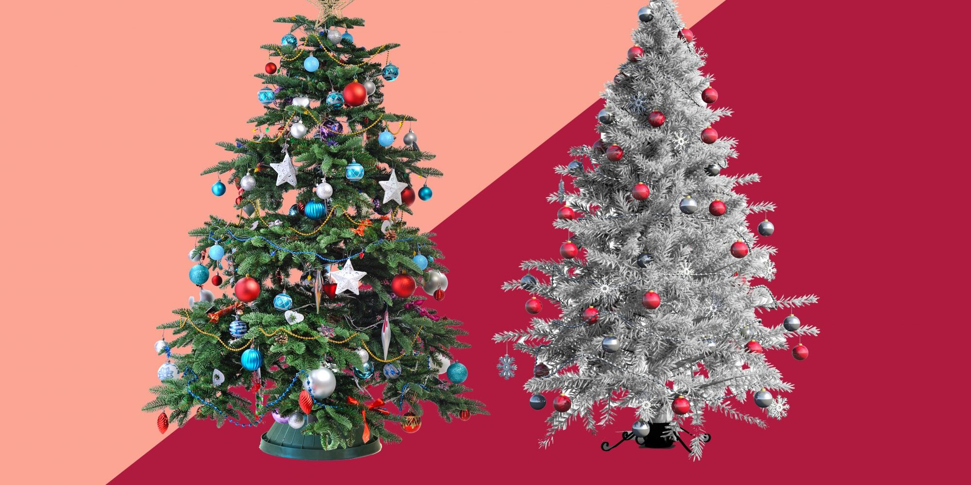 Most Realistic Artificial Christmas Trees 2021 Pros And Cons Of A Real Christmas Tree Vs Artificial Christmas Tree Real Simple
