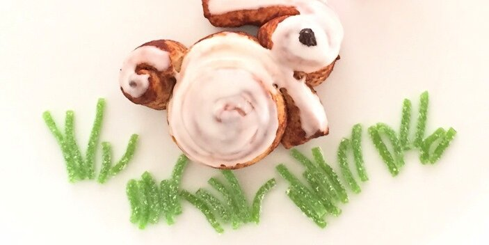 These Cute Cinnamon Roll Bunnies Win Easter Forever