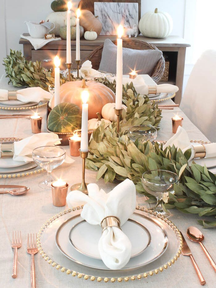 40 Stunning Thanksgiving Table Decor Ideas For 2020 Real Simple