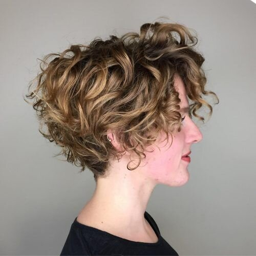 Haircuts For Thin Curly Hair Southern