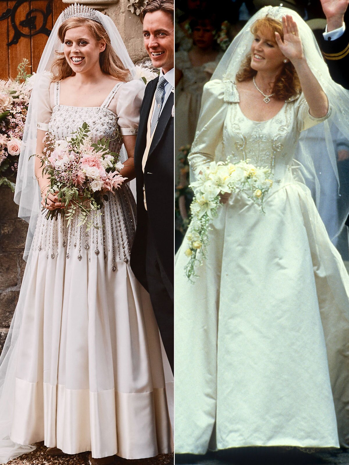 Princess Beatrice Mirrored Mom Sarah Ferguson On Her Wedding Day