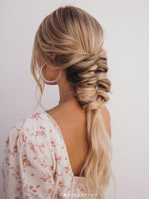 25 Easy Wedding Guest Hairstyles That Ll Work For Every Dress Code Southern Living