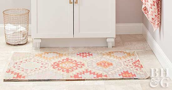How To Clean Bathroom Rugs Better