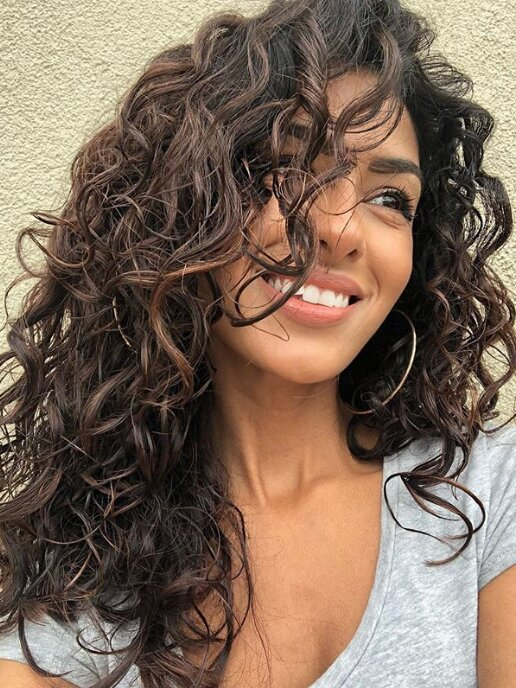 14 Easy Hairstyles For Long Curly Hair Southern Living