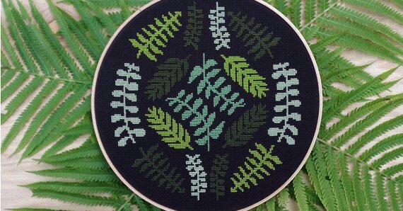 Cross-Stitch Patterns So Cute You`ll Want to Frame...