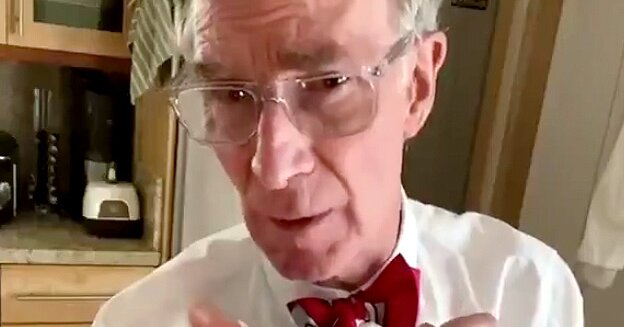 Bill Nye Shows How Face Masks Slow the Spread of Coronavirus: It's 'a Matter of Life or Death'