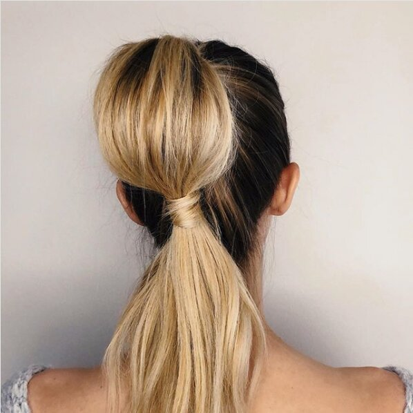 Admirable 34 Pretty Ponytail Hairstyles That Prove Theyre Coming Back Big Natural Hairstyles Runnerswayorg