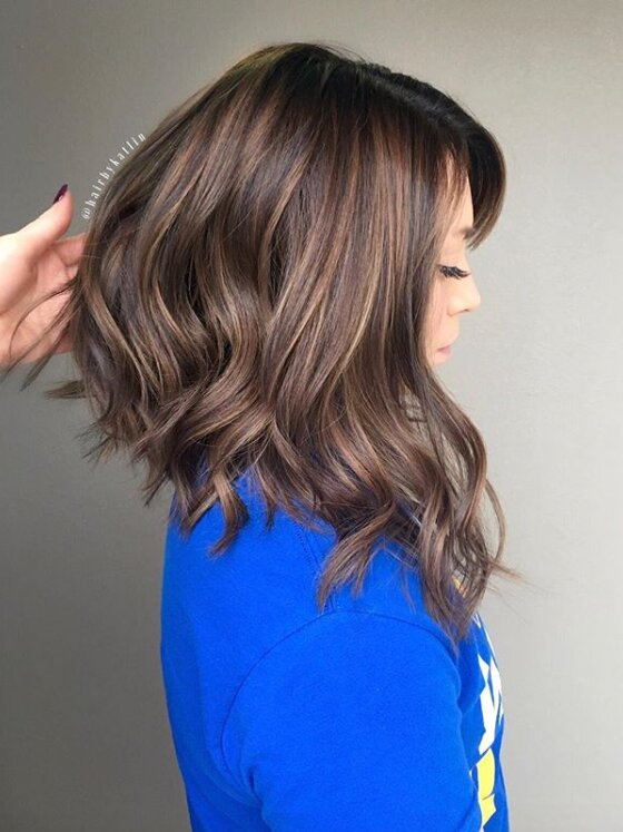 Long Angled Bob Haircuts That Prove Blunt Isn T Always Better Southern Living