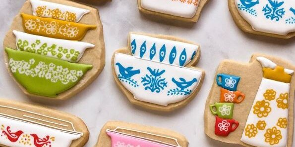 4 vintage kitchen inspired cookies that have completely stolen