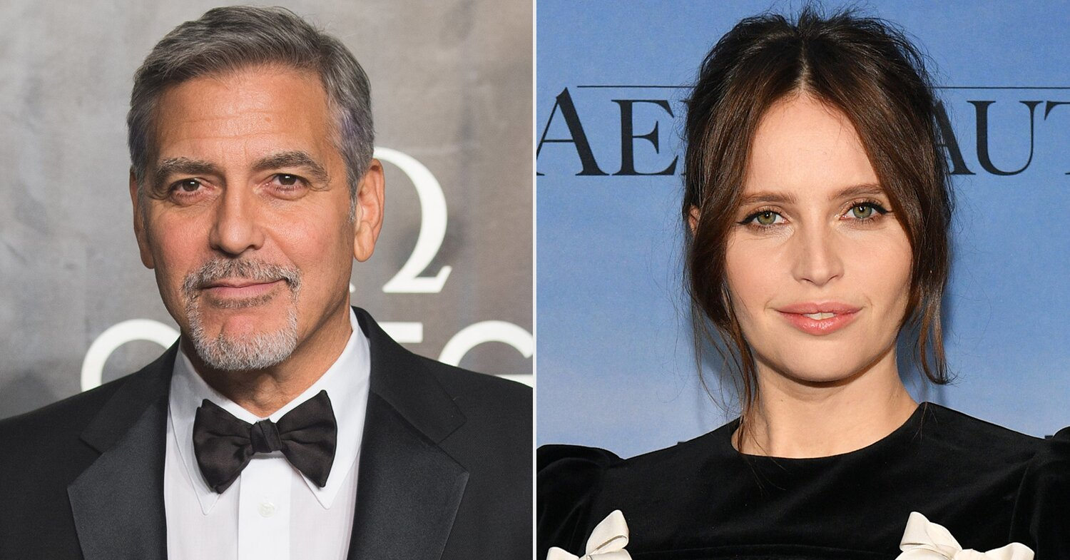George Clooney Reveals Why Felicity Jones' Pregnancy was Incorporated into Midnight Sky.jpg