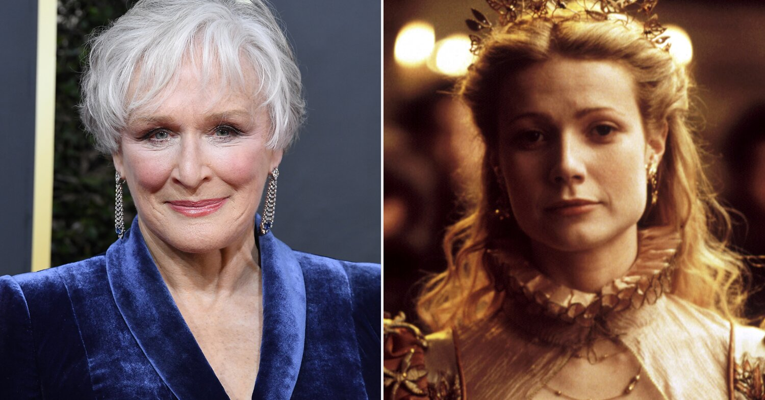 Glenn Close says she was surprised by Gwyneth Paltrow's 'Shakespeare i... image