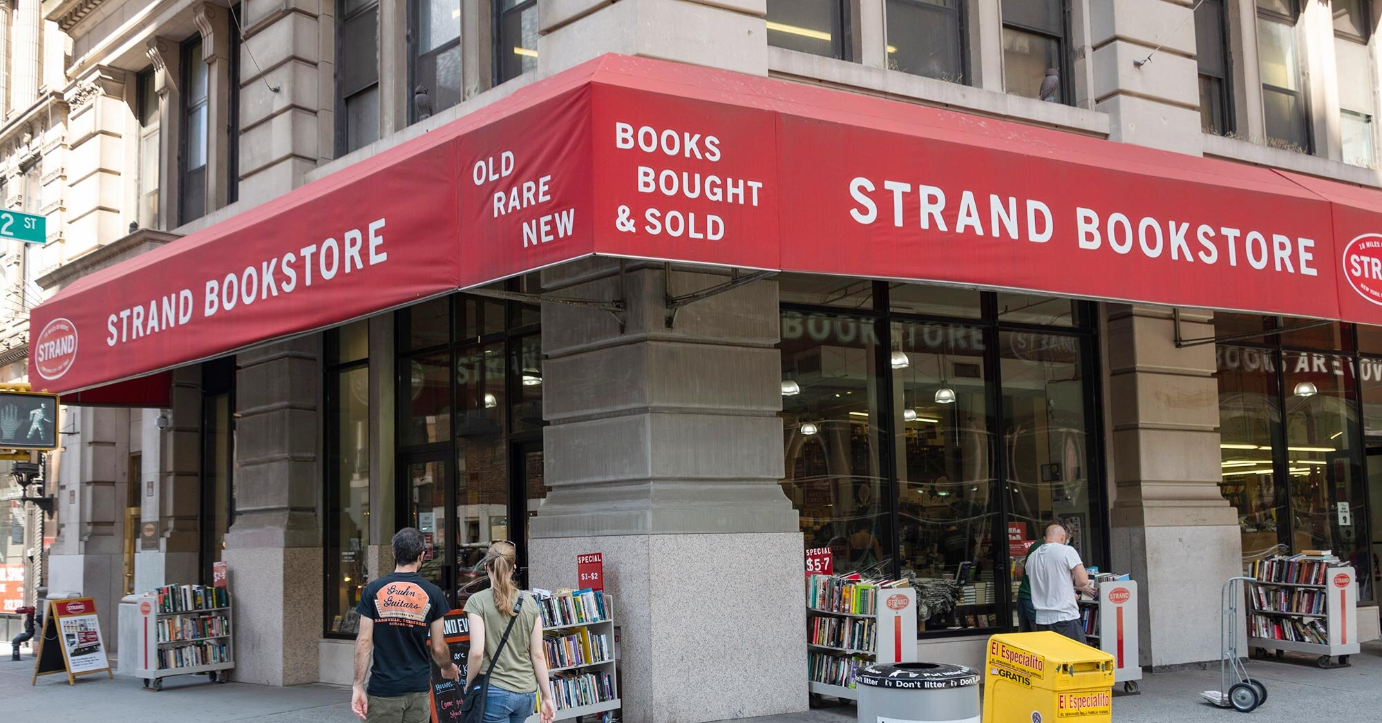 The Strand, New York's historic indie bookstore, sends out call for help in light of pandemic hardship