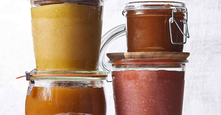 What's the Difference Between Applesauce and Apple Butter?