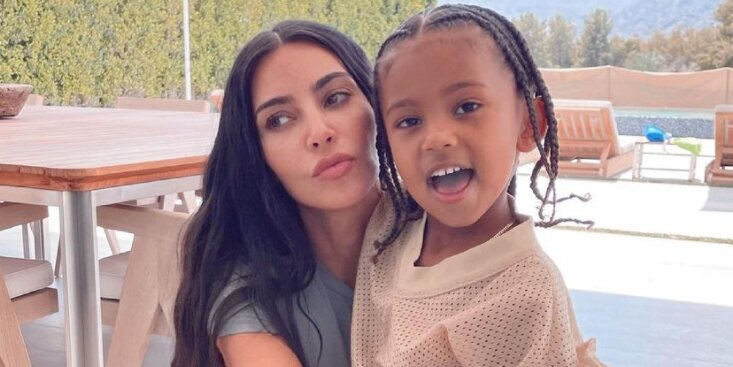 Kim Kardashian Soaks Up Snuggles with Son Saint, 5, in Sweet Photos Ahead of Mother's Day.jpg