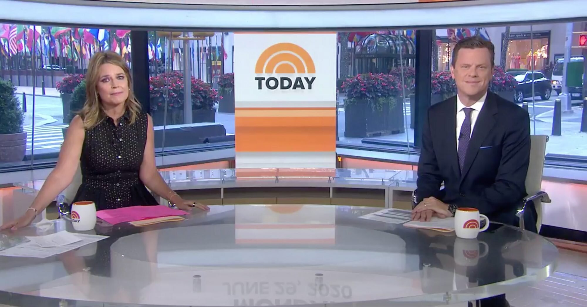 Savannah Guthrie Returns to the Today Show Studio in N.Y.C. After Almost 3 Months