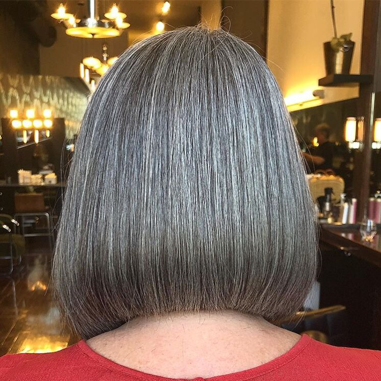 Gorgeous Gray Hair Color Shades That Iacute Ll Make You Rethink Those Root Touchups Southern Living
