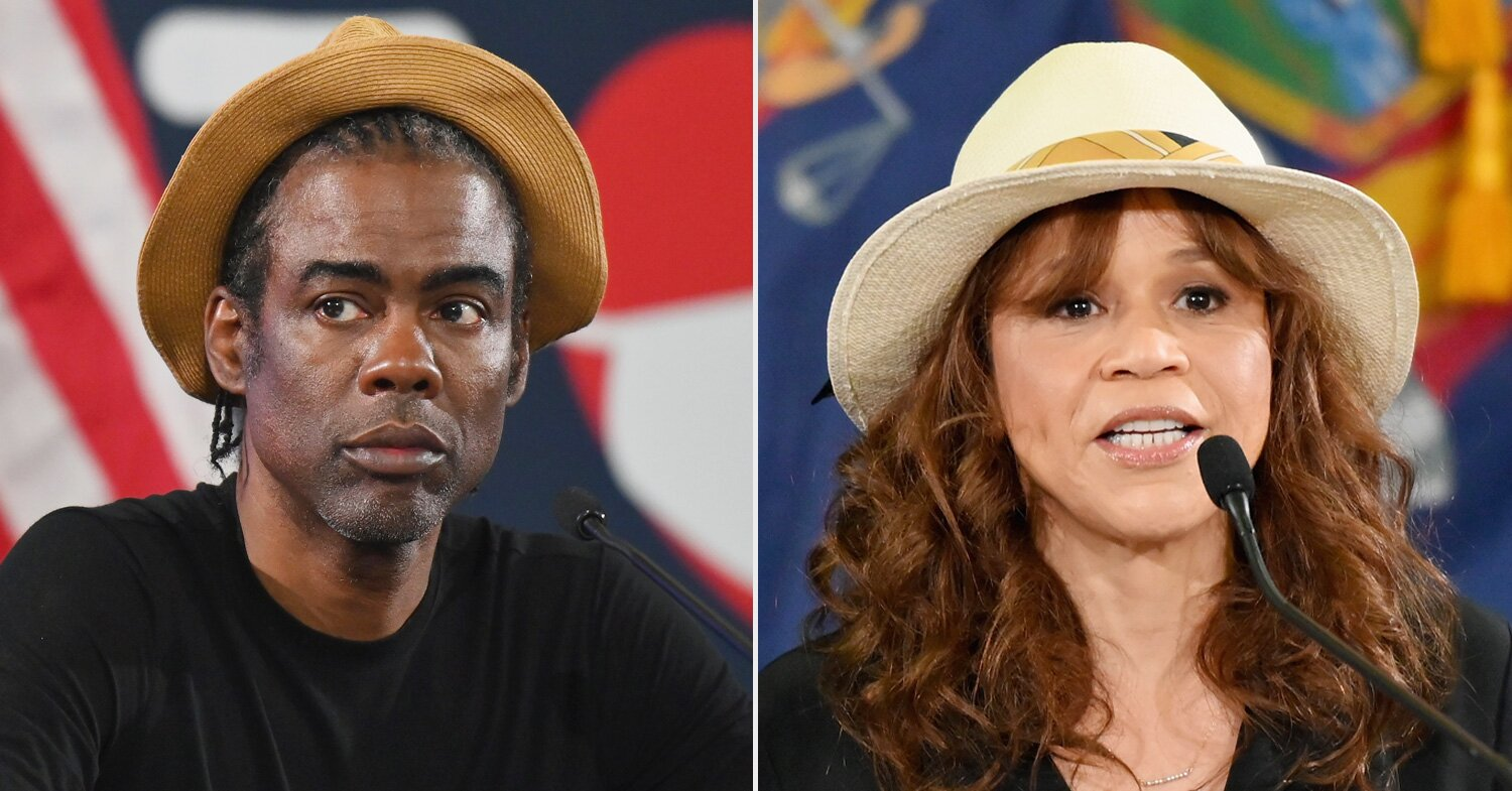 Chris Rock and Rosie Perez Join Briefing with Gov. Cuomo, Who Jokes He's 'Not Cool Enough'