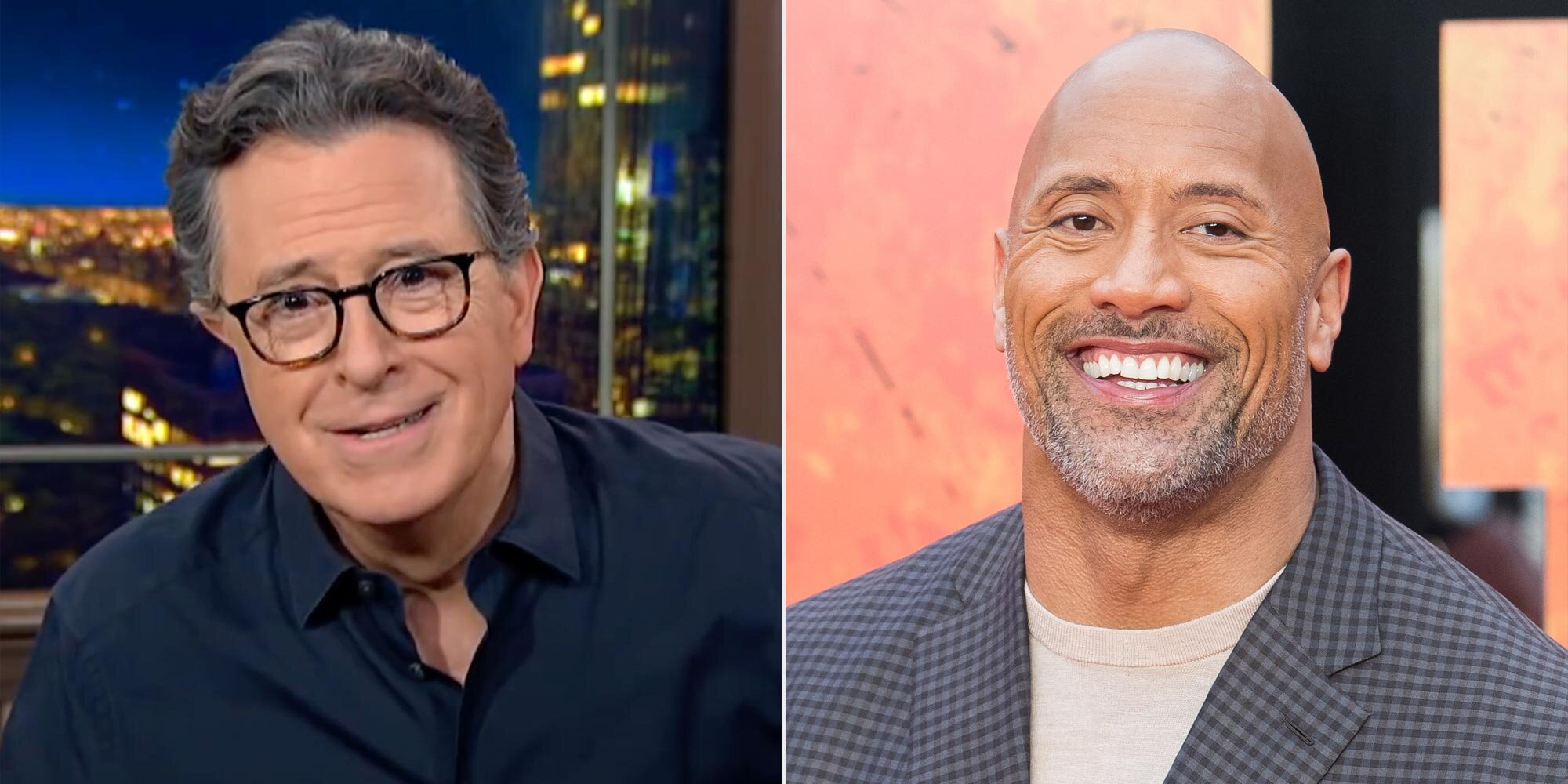 Stephen Colbert on Dwayne Johnson: 'We don't need another celebrity in the White House!'.jpg